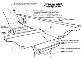 Roofing For Pergola by Pergola Construction Details