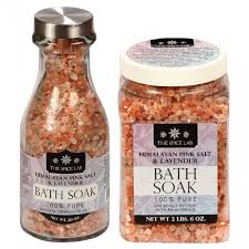 himalayan salt l 100 lbs himalayan pink salt with lavender bath soak the calming properties