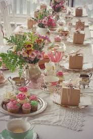 high tea kitchen tea ideas tea centerpieces centerpieces