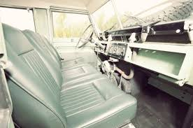 original range rover interior 1968 land rover series iia