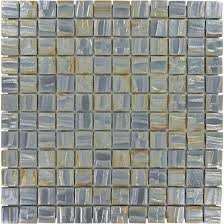 100 recycled 1 u0027 u0027 x 1 u0027 u0027 grey glass square tile glossy and