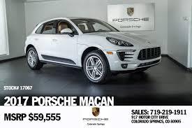 Porsche Cayenne Macan - 2017 porsche macan for sale in colorado springs co 17067