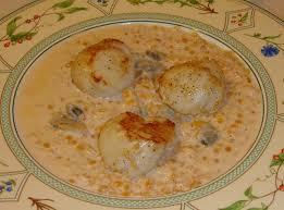 cuisiner corail jacques crémeux de lentilles corail aux noix de jacques