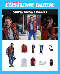 Marty Mcfly Halloween Costume Diy Marty Mcfly Costume Guide Cosplay