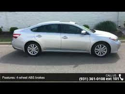 toyota avalon brakes 2014 toyota avalon xle premium serra toyota decatur d