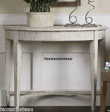 Antique Accent Table Brilliant Half Round Accent Table Rustic Tuscan French Country