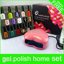 uv l for gel nails nail polish kits led nail l nail art boutique set uv led gel