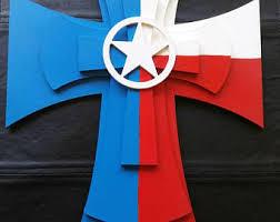 cross flag etsy