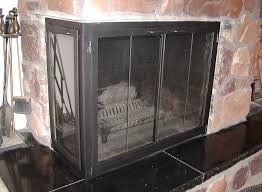 fireplace doors u0026 enclosures corner