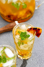 pineapple mojito recipe recipe grilled pineapple mojito kitchn