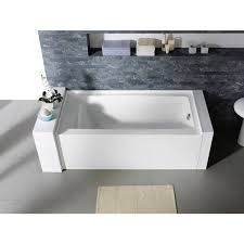 54 X 40 Bathtub Delano 59 Inch X 32 Inch White Rectangle Alcove Soaking Bathtub