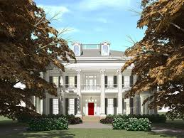 colonial house design plan 052h 0073 great house design