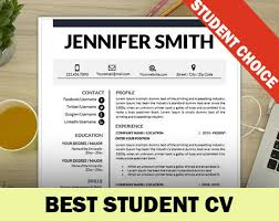 Best Student Resumes by The 25 Best Student Resume Template Ideas On Pinterest High