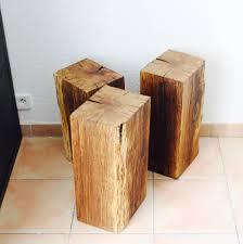 bout de canap bois bout de canapé table de nuit bois massif arty décoration