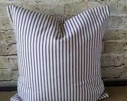 Linen Covers Gray Print Pillows White Walls Grey Farmhouse Pillows Etsy