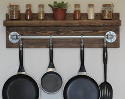 Kitchen Wall Shelf Industrial Shelf Etsy