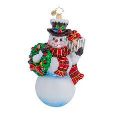 radko ornaments snowman ornament frosty offer