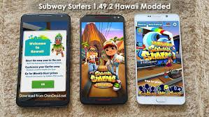 subway surfers modded apk subway surfers 1 49 2 apk modded hawaii unlimited coins hack