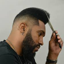 afro hairstyles taper fade 2017 creative taper fade haircuts for black men men s hairstyles