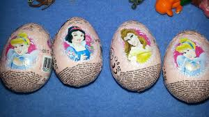 easter eggs surprises 4 toys surprises disney princess kinder easter egg