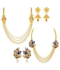 necklace set image images Sukkhi multicolour necklace set set of 2 buy sukkhi jpg