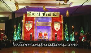 Neon Themed Decorations Medieval Royal Festival Throne 2 Ballooninspirations Com