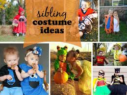 cute sibling costume ideas one whimsy lane