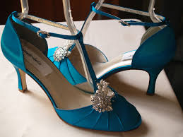 Wedding Shoes Mid Heel Teal Wedding Shoes Mid Heels Vintage Style Closed Toes 40s Style