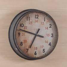 Herman Miller Clock Howard Miller Brass Work 32 In Wall Clock Hayneedle