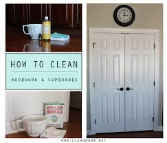 how to clean woodwork and cupboards clean mama