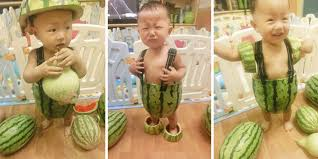 Watermelon Meme - china s newest meme is kids dressed in watermelons