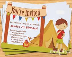 Backyard Birthday Party Invitations by Backyard Explorer Kids Birthday Party Invitation Fully