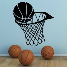 sports bedroom ideas promotion shop for promotional sports bedroom g086 basketball and net hoop vinyl wall art sticker sports hall etc boy room ideas bedroom wall stickers decorative stickers