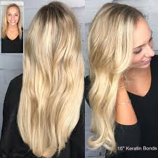 Hair Extensions With Keratin Bonds by Great Lengths Extensions At Salon Elite Woodbury