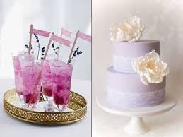 Lavender Decor Lavender And Lilac Wedding Inspiration 95 Delicate Ideas