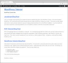 tutorial wordpress blog wordpress theme development tutorial step by step vegibit