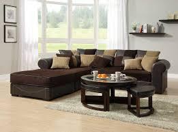 cool sectional sofas chocolate brown sectional sofa