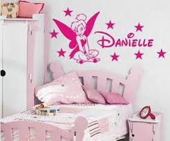 tinkerbell decorations for bedroom cute tinkerbell little girls bedroom wall stickers home