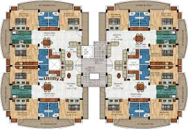 Apartment Building Blueprints by 4 Apartment House Plans Arts
