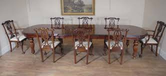 Gothic Dining Room Furniture Victorian Dining Table Set Gothic Chippendale Chairs