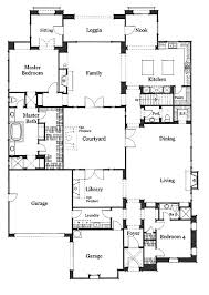 floor plans with courtyards bold and modern spanish hacienda floor plans with courtyards 11