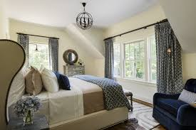 superb wingback bed in bedroom contemporary with accent wall