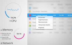 Linux Resume Process Deepin System Monitor Invites You To Go On A Process Killing Spree