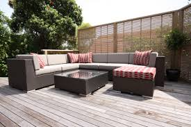 rattan garden furniture home design by fuller
