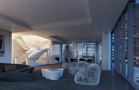 penthouse at zaha hadid u0027s only new york residential building goes