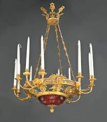French Empire Chandelier Lighting A Matched Pair Of Important And Rare Russian Empire Chandeliers