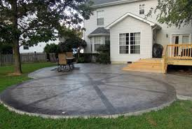 Cheap And Easy Backyard Ideas Easy Patio Designs