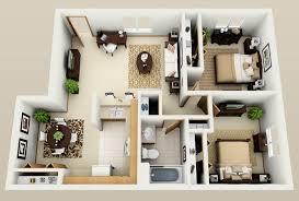 Modern 2 Bedroom Apartment Floor Plans Wonderful Two Bedroom Apartment Floor Plans Homes View Plan