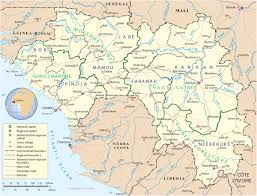 African Countries Map Map Of Guinea Conakry Travel Africa