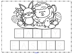 easter theme activities and printables for preschool and